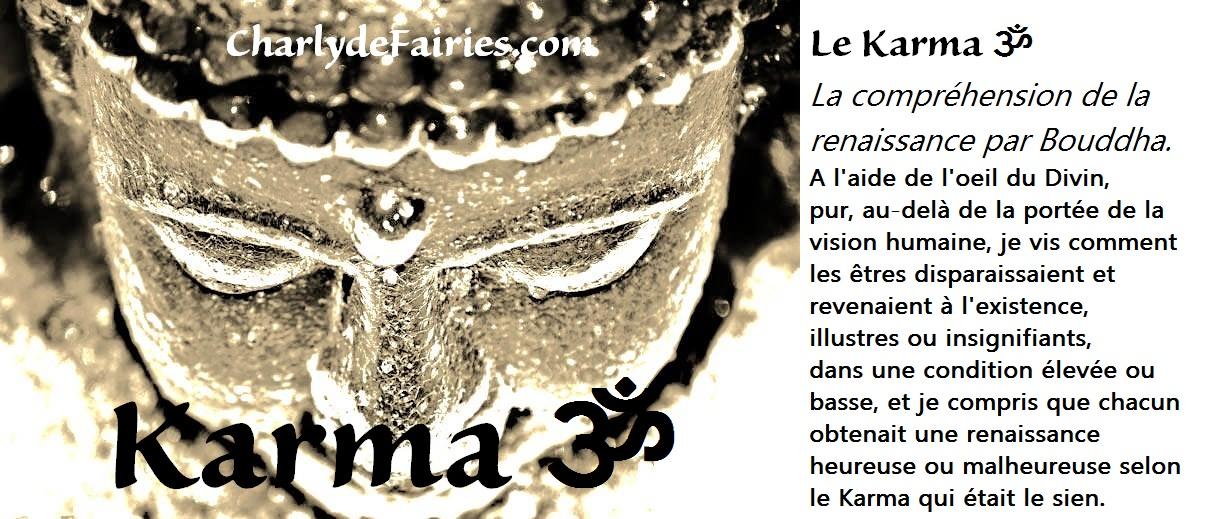 Le «karma» signifie «action».